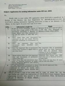 Response to RTI 1